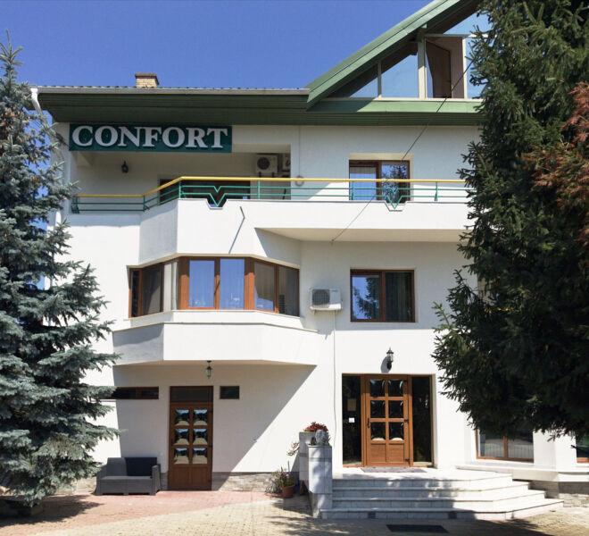 Pensiunea Confort SUCEAVA *** (3 stele) – Cazare Suceava: Clădire